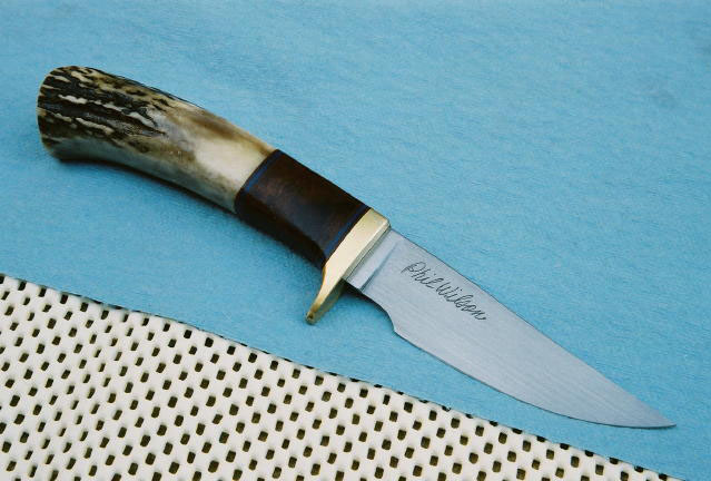 3.5 inch Coyote Meadow with Stag and Desert Ironwood handle