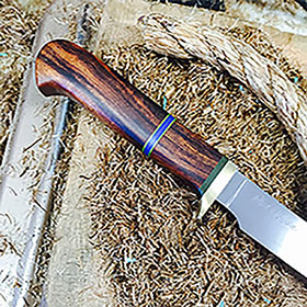 7 inch Punta Chivato Desert Ironwood with contrasting spacers